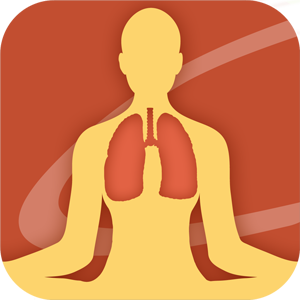 Universal Breathing Pranayama yoga app for iPhone and Android