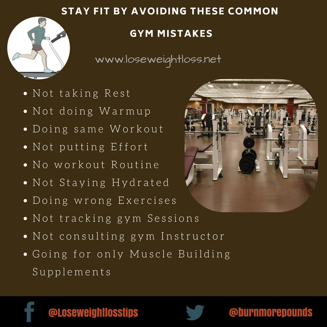 common mistakes to avoid at gym