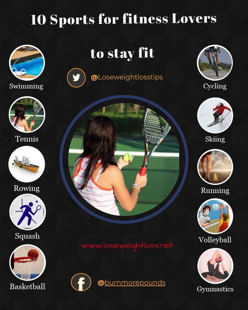Popular Sports to stay fit