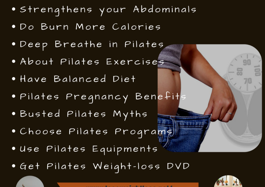How can pilates help you burn belly fat
