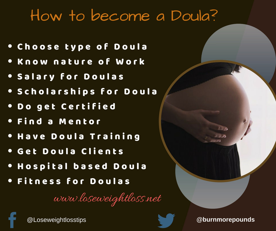 Tips to become a Doula