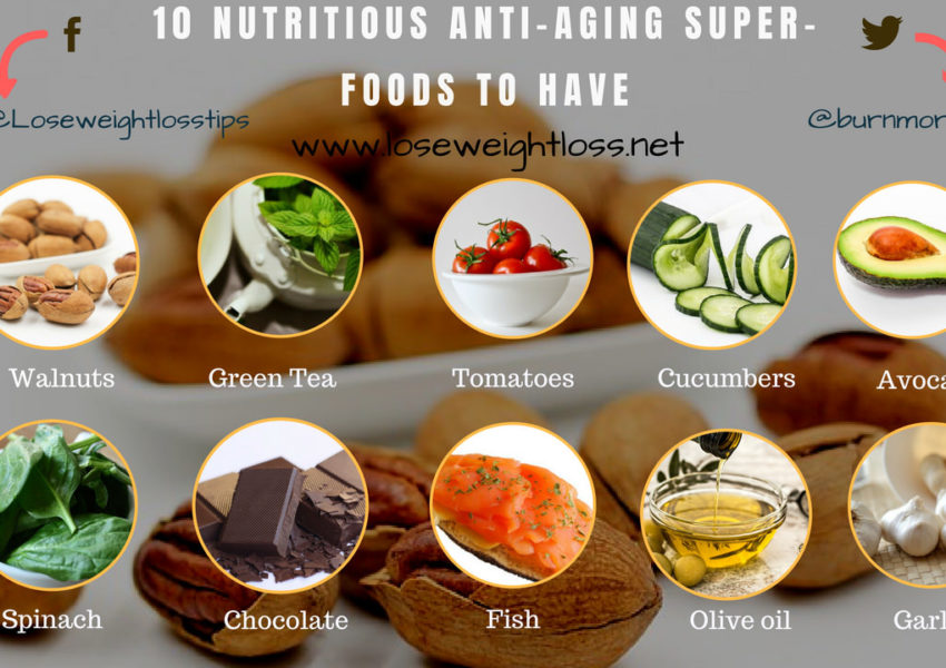 10 Nutritious anti-aging Superfoods