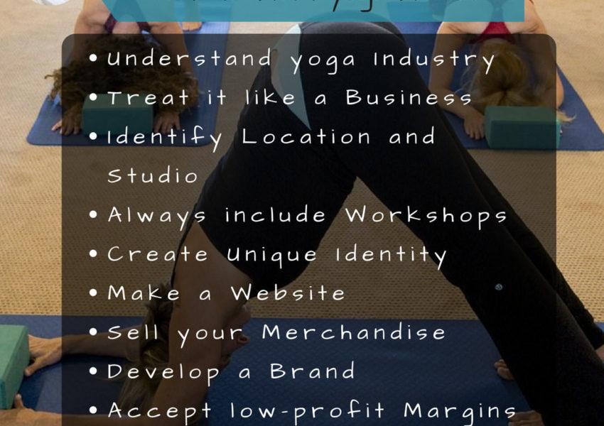 10 Ways to Start you own yoga studio