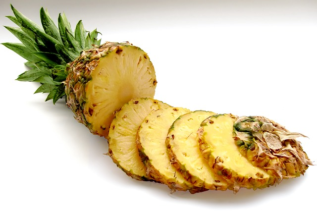 Pineapple the anti-allergy food