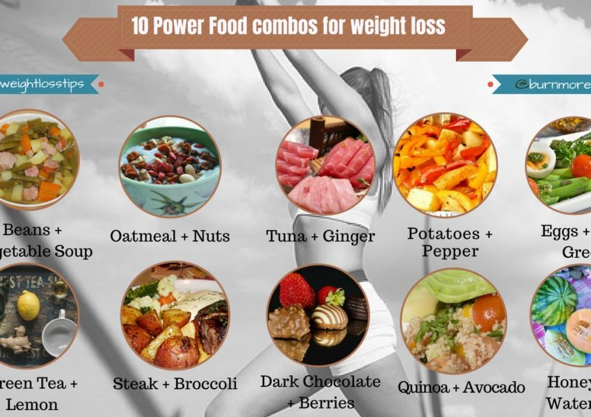 10 Power Food combos for weight loss