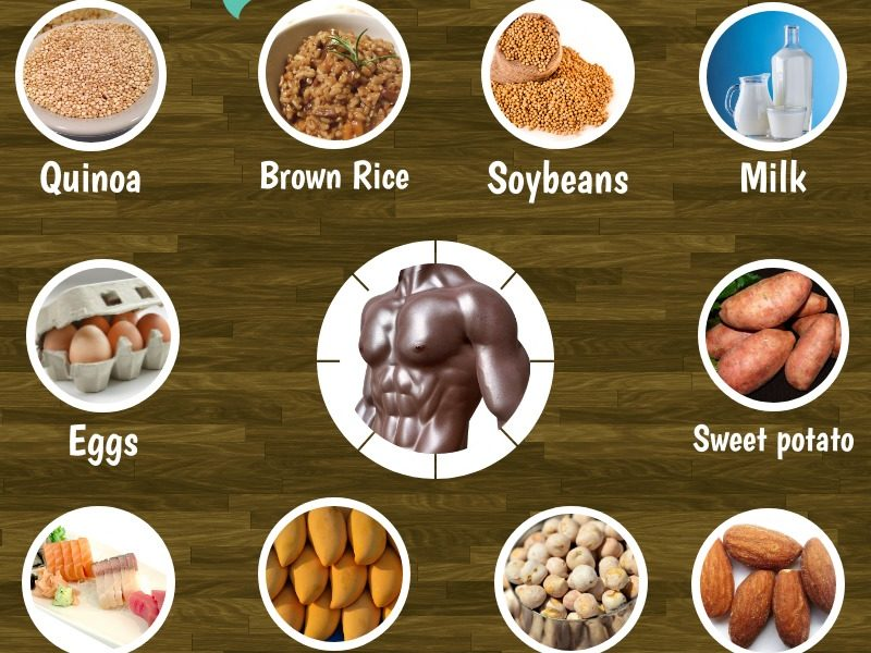 10 Superfoods to gain lean muscle