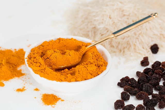 turmeric having antiallergy properties