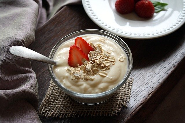 Yogurt the healthy food for runners