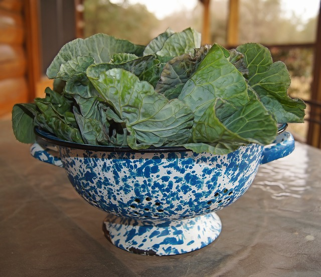 Collard Greens for stronger bones