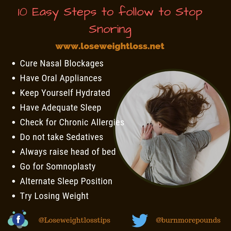 10 Ways to Stop Snoring Naturally