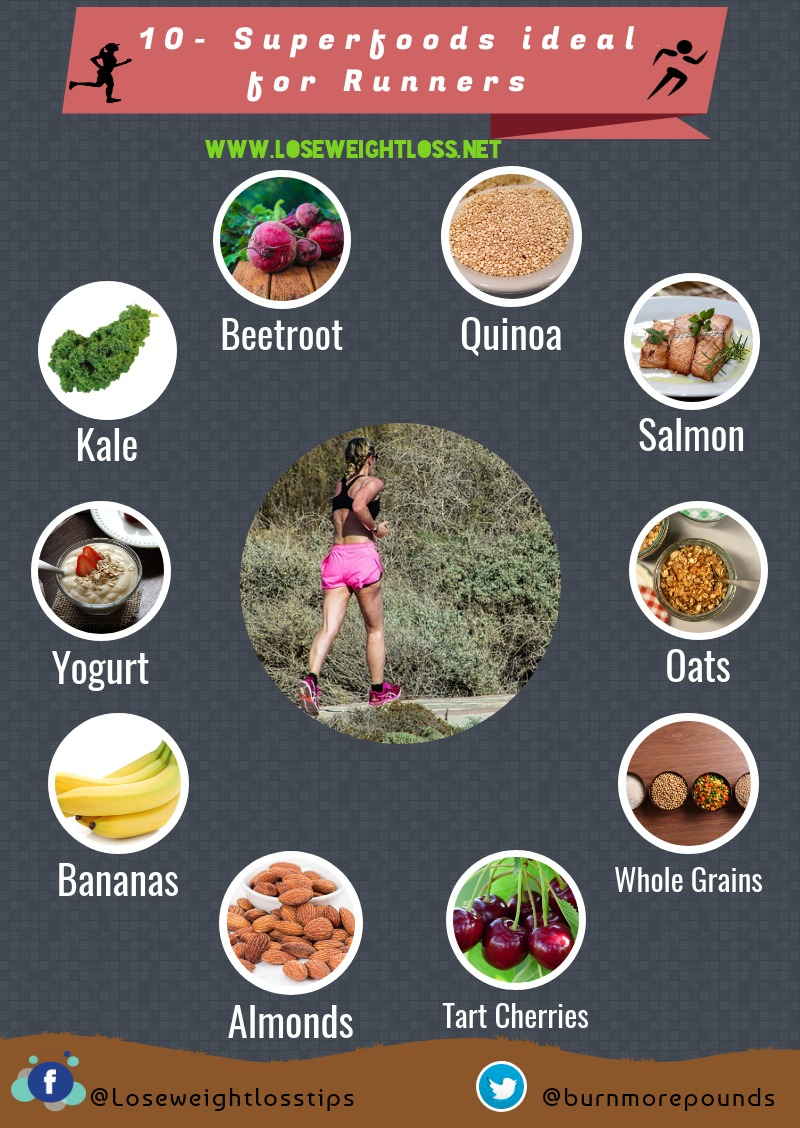 10 best Superfoods ideal for Runners