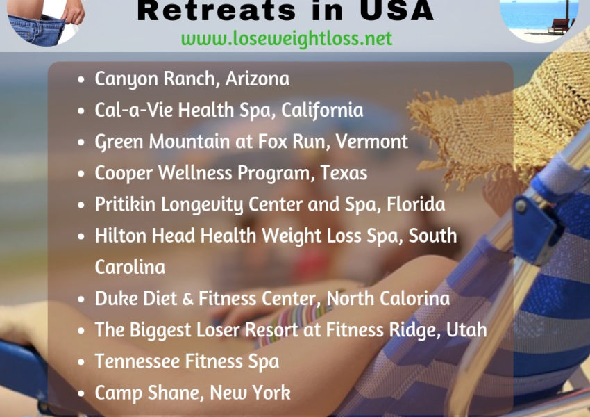 10 Best Weight Loss Retreats In Us Lose Weight Loss