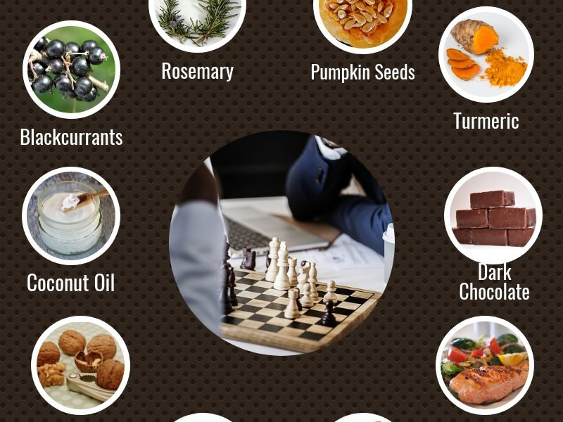 10 Natural foods to Boost your Brain Memory
