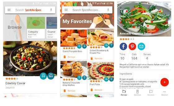 SparkPeople Healthy Recipes & Calculator