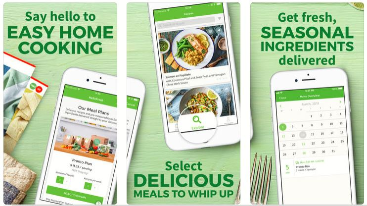 cooking apps for iPhone and Android