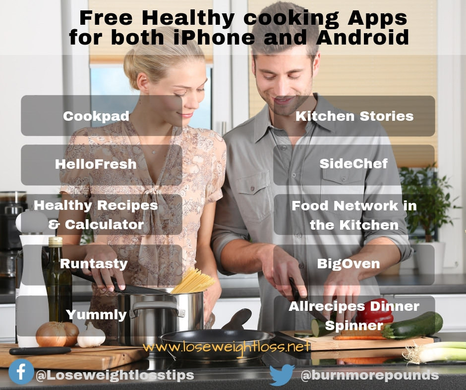 10 Best Food Recipe and Cooking apps for iPhone and android