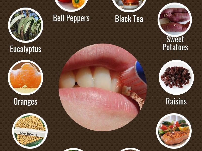 10 Foods to improve oral health