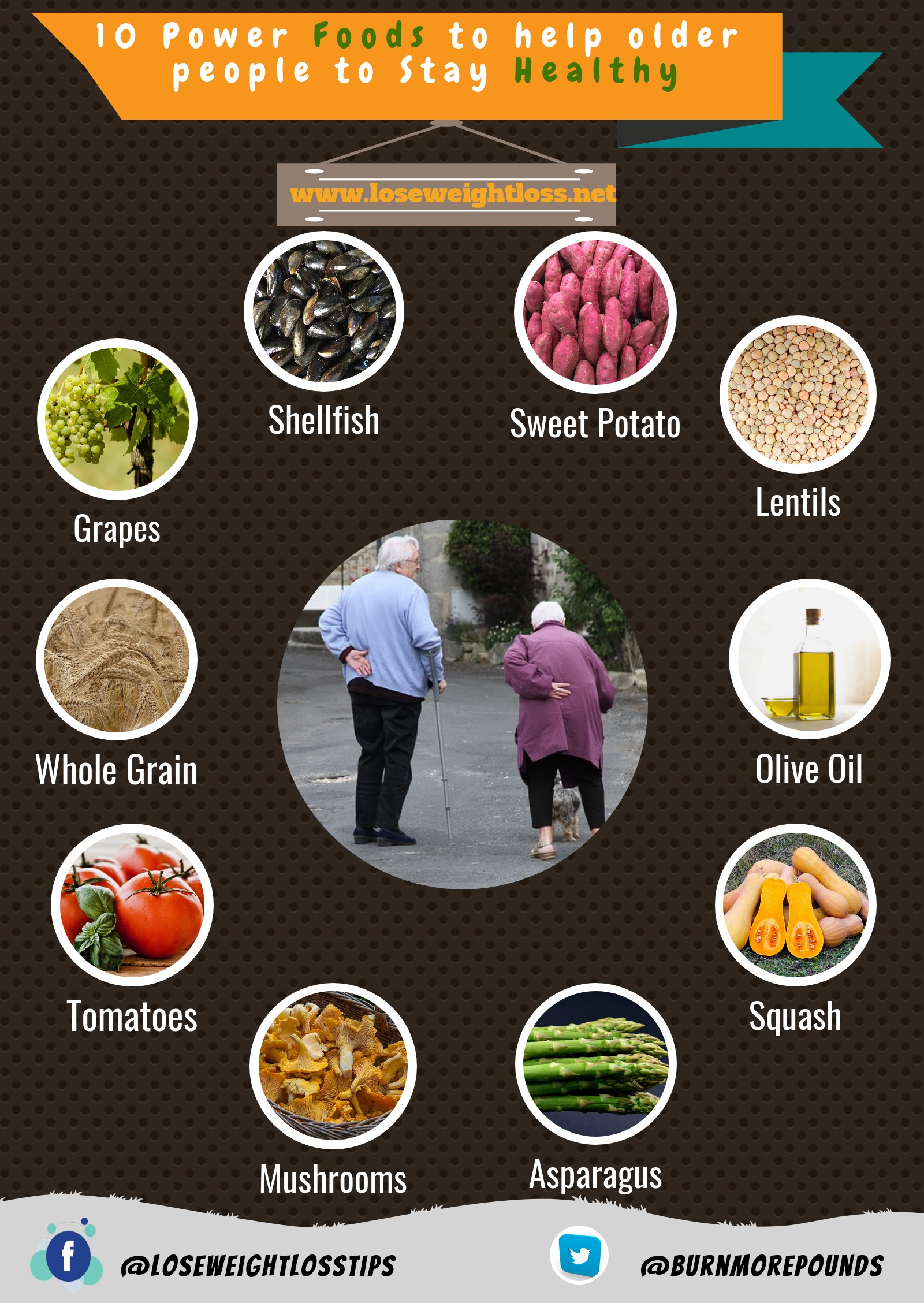 Healthy foods for older people to stay healthy