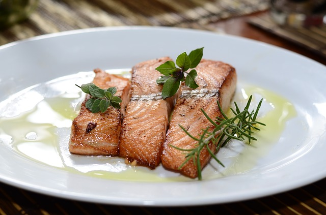 salmon the healthy food to overcome Polycystic Ovary Syndrome