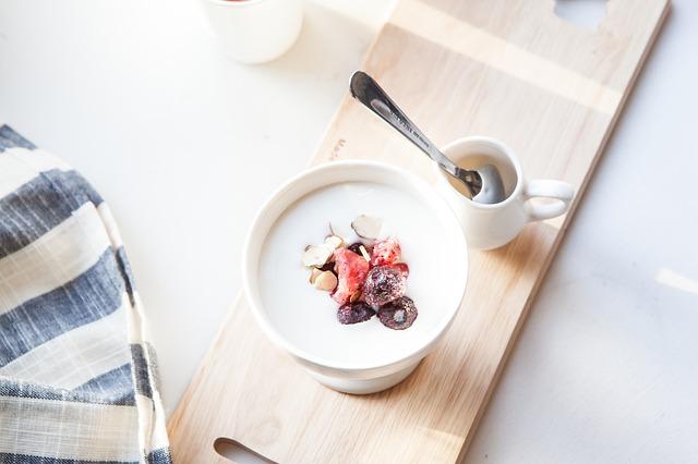 Yogurt the food for travelers