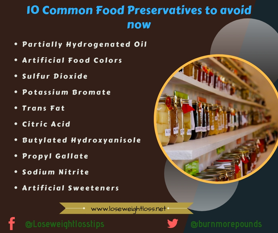 10 common food additives to avoid
