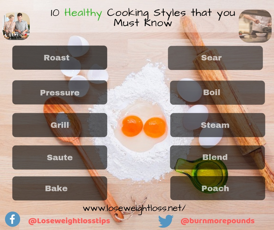 10 Healthy Cooking Styles that you Must Know