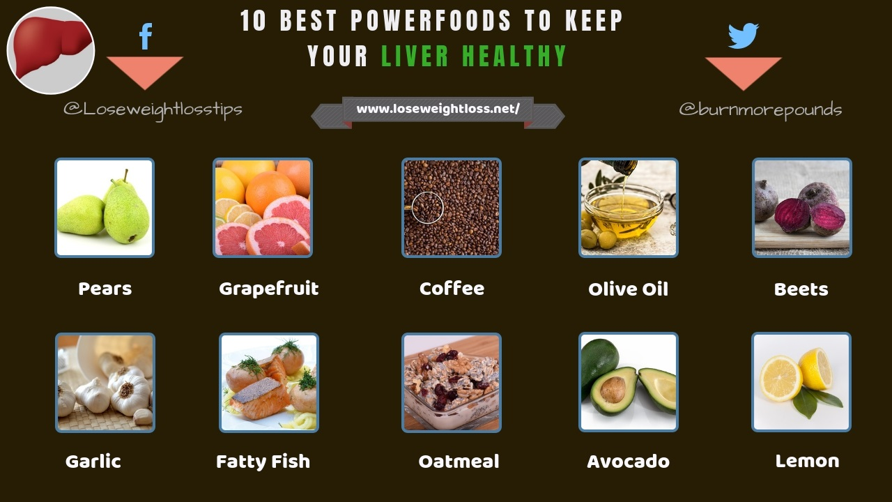 Superfoods for healthy liver