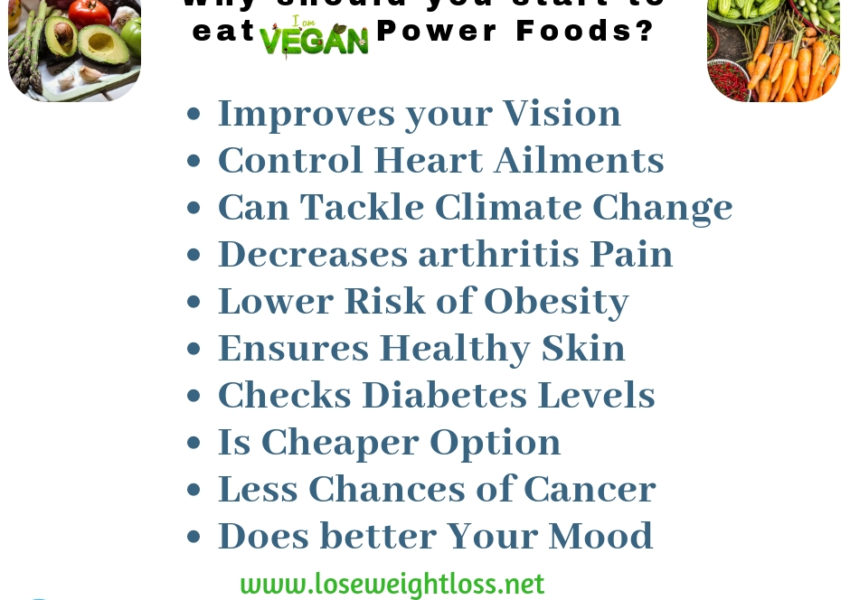 Why should you start to eat Vegan Power Foods?