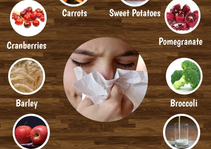 10 Foods to eat during Cold and Cough