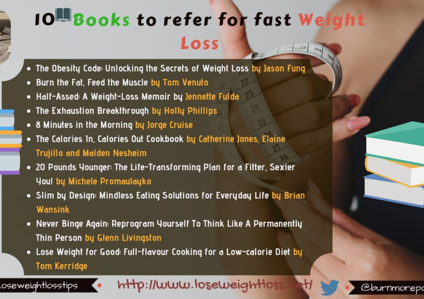 10 weight loss books to lose weight fast