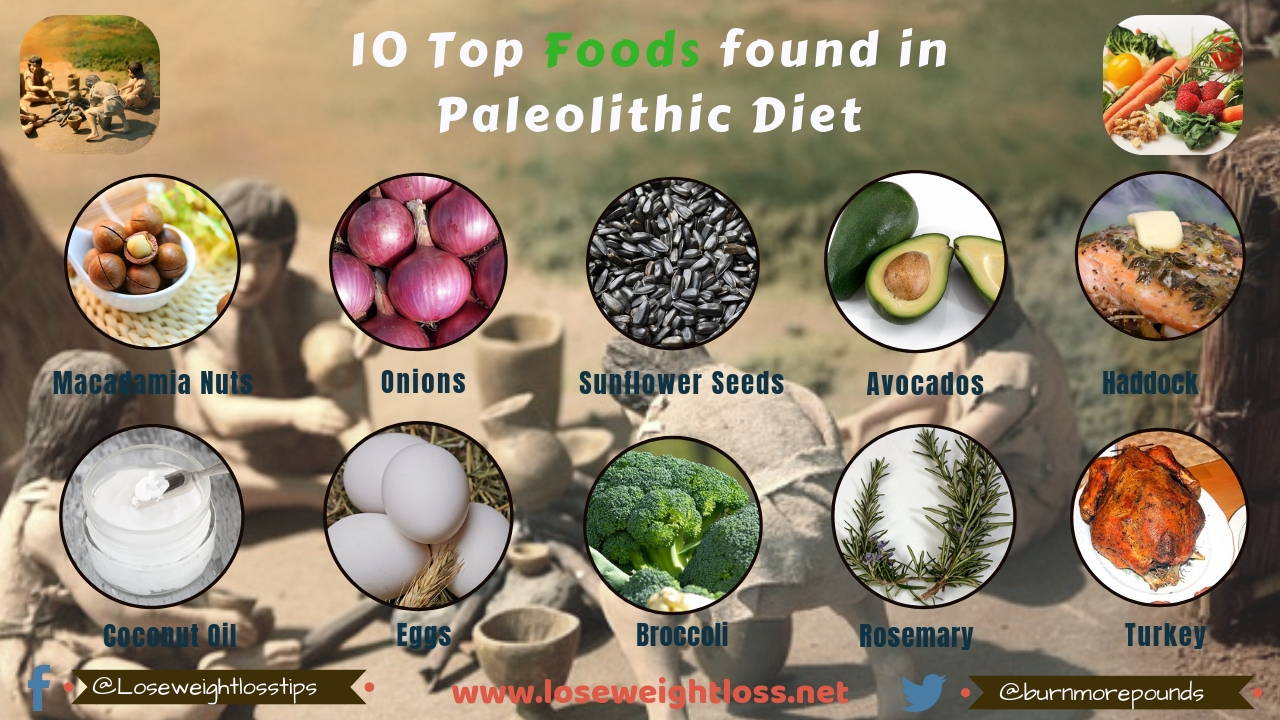 10 Top Foods found in Paleolithic Diet