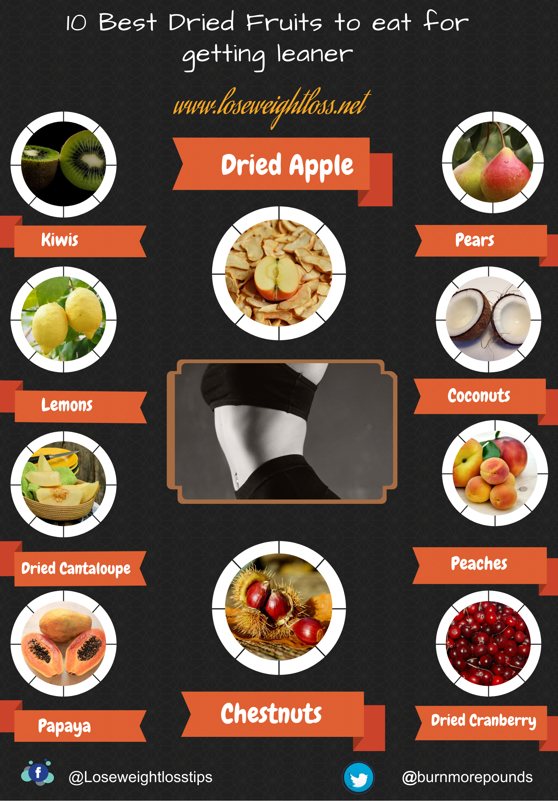 10 Best Dried Fruits to eat for getting leaner