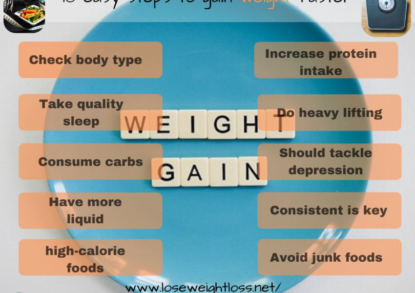 10 natural ways to gain weight faster