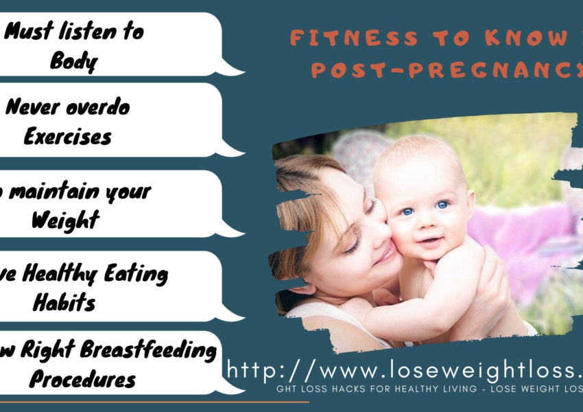 Fitness Ideas to know in Post-Pregnancy