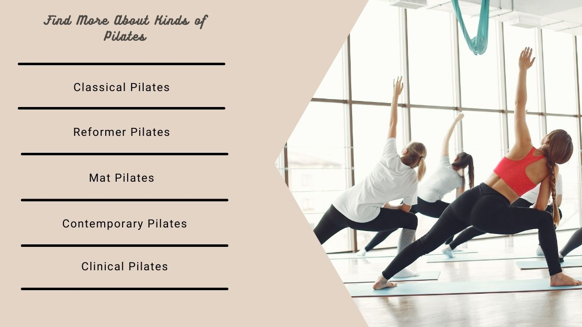 Find More About Kinds of Pilates