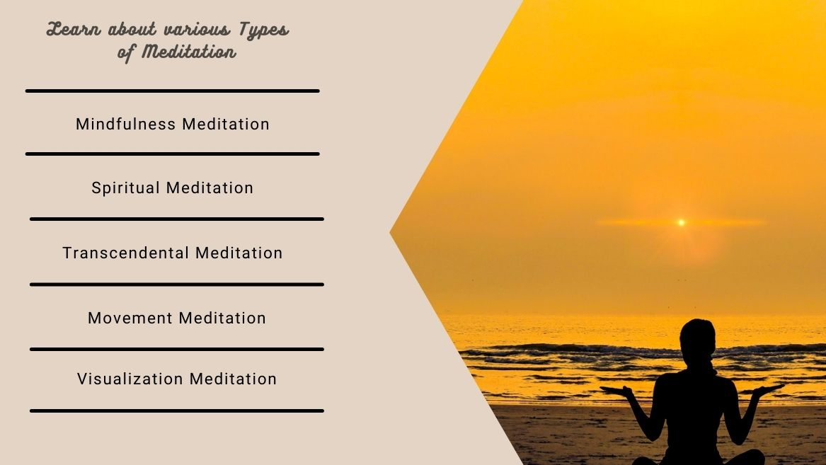Learn about various Types of Meditation