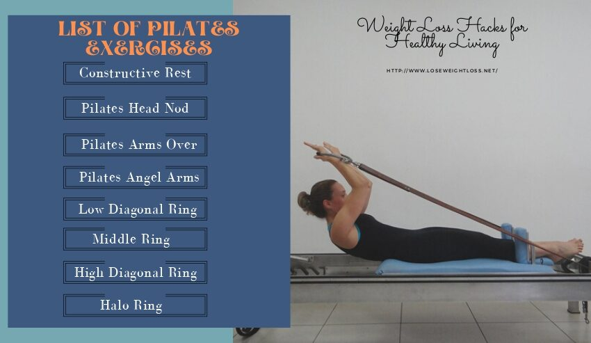 List of Pilates Exercises
