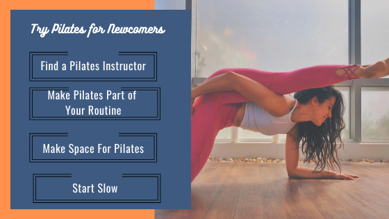 Try Pilates for Newcomers